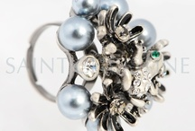 Pearl Rings / by saint christine