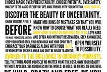words / by Julie Bartel
