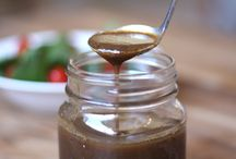 condiments and dressings, sauces and dips / by Mj Stearns
