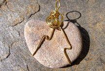 Wire wrapped jewelry / by Sandy Wyborny