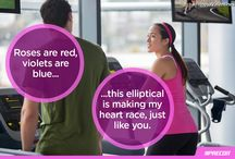 Fitness Valentines / Keep your special day healthy with these fitness Valentines. / by Precor