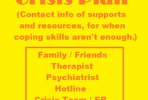 Crisis Plan / by Inspirational Mental Health