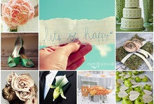 Wedding Colors | Farbkonzepte / Inspirations Boards and Color palettes