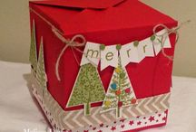 Gift box punch board / by Sandra Penner
