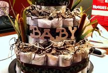 Diaper Cakes / by Cynamin Anthony