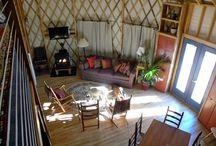 Tiny homes, Yurts, and Cabins / by Ashlynn Shanahan