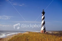 Lighthouse Getaway! / All American Lighthouse photos offered for licensing through iStock. From William Britten Photography and Gallery in Gatlinburg, TN. / by William Britten