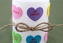 Valentine crafts / by Alison Williams