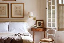 Bedrooms / by Rachel Hardin