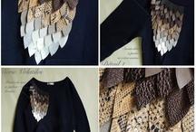 Sweatshirt embellishments / by Margaret Davis