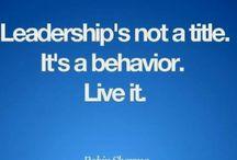 Leadership / by Danielle Barrett