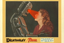 Ladies and robots / retro / Tribute to Donna Haraway / by Ryslaine Mly