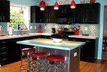 Kitchen Inspiration and DIY / by Elissa Dahlgren