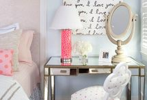 Girly Home Decor / by Stephanie O