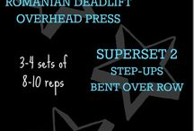 Superset Workouts / by Ashley Olson