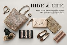 Hide and Chic / Want to rule the Urban Jungle? Inject a little animal magic into your look. / by AccessorizeUSA