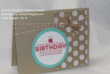 Stampin' Up! - Sale-A-Bration / Inspiration for ways to use the 2014 Sale-A-Bration products. Need a Stampin' Up demonstrator? Visit my site! http://www.stampinwithstacey.com / by Stacey Lane, Stampin' Up!