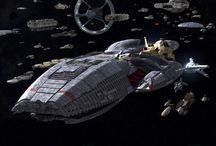 Battlestar Galáctica  / Curiosidades y diseños de la serie. / by David Ruiz Rodrigo