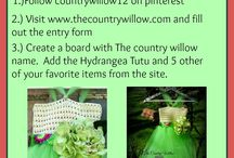 Contests, Giveaway, Coupons and Codes!! / by The Country Willow