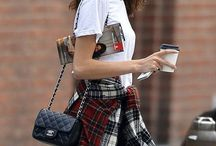 Plaid / Trending: Plaid + Punk Style / by StyleCaster