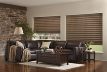 Prominence Shades / The look of a hobbled Roman shade with the energy-saving performance of a honeycomb. Large cell design features two layers of fabric for excellent light and privacy control. / by Window Treatments