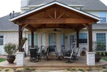 patio ideas  / by Donna Salge