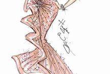 Fashion Illistration / by Liz Garfield