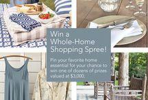 Shop the House—and Win Up to $1,500 in Prizes! / In honor of our all-new, one-stop shopping site, Annie is giving away almost $3,000 in unique designer products for the home.  / by Dash and Albert Rug Company