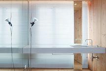 interiors - bathrooms / by Neille Hepworth