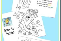Coloring pages / by Kimberly Reynolds