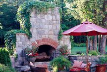 outdoor fireplaces and bbqs / by Joyce Cameron