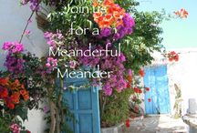 Meander Holiday Greece / Paros Island Greece  holidays to stimulate curiosity, creativity and reflection. http://meanderful.com / by Jackie Walker
