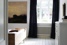 Windows and curtains / by Linda Kummel