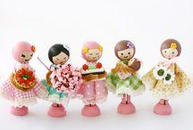 Crafts   Peg Dolls / by Leilani Uy