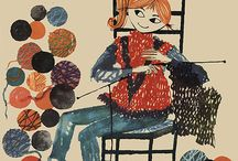 Knitting print&quotes / by Marta Spring