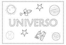 Proxecto o universo / by Manuela Oliveira