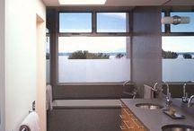 home | bathroom / The Water Closet, powder room, ensuite bathroom , shower room... / by Taryn H