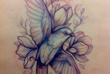 #Bird tattoos / by Debra J. Newbill
