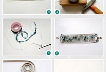 Bijoux fil métal / by lydia dargent