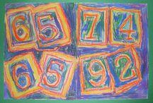 art lesson- k-2 / by June Bug