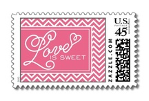 pretty little postage stamps / by Debbie   The Spotted Olive