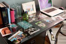 Home Office/Homework areas / by Jamie Giguiere