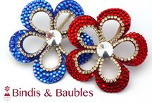 Bindis and Baubles: Indian Weddings magazine Preferred Vendor / The hottest collection of custom bindis, hair accessories, and sparklies! Contact them BindisandBaubles@gmail.com / by Indian Weddings & California Bride