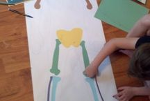 Pre-K Body and Nutrition / All about the body and nutrition for preschool and kindergarten / by Sarah Aitken
