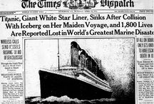 RMS Titanic / I love the history of the RMS Titanic.  / by Stephanie Perry