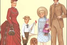 Paper Dolls: Families  / by Cheryl Darr