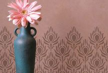 """Royal Design Stencils Love"". / by Fawn Strunk"