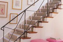 Stair railing / by Kristin Designs