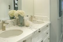 Gillian Gillies Interiors Inc - Bathrooms.  / A glimpse into some of the gorgeous bathrooms and powder rooms we have had the pleasure of desinging!  / by Gillian Gillies