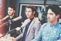 Jonas brothers / Nick Joe and Kevin / by Riley